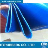 Голубой, померанцовый шланг PVC Layflat, шланг для полива