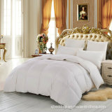Do ganso tamanho branco luxuoso do gêmeo do Comforter do Duvet para baixo