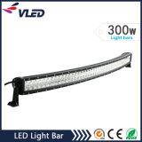 Se ofrece de fábrica 51.7 '' 300W LED de luz de la barra de 4x4 campo a través