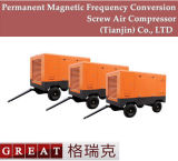 Bauindustrie-Gebrauch-mobiler Typ- zweiwalzen-Kompressor