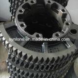 Bastidor del OEM/engranaje de gusano del acero de forja y eje del gusano
