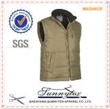 Aangepaste Goedkope Mens plus Sleeveless Vest van de Grootte 5XL