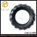 Neumático de la carretilla de la granja de los neumáticos del alimentador agrícola de TM500d 5.00-15