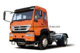 HOWOのブランド4X2のドライブの種類トラクターヘッドトラック