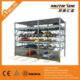 Systèmes de stationnement automatisés à niveaux multiples hydrauliques multi-niveaux