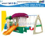 De kleine Plastic Dia van Kinderen Playsets met de Apparatuur van de Schommeling (hc-16508)