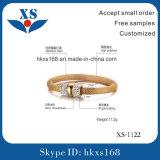 Spätestes Form-Gold überzogene Armbänder