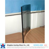 Color azul/verde gris/vidrio reflexivo claro para el edificio/la decoración