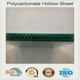 Lamiera sottile decorativa della cavità del favo del policarbonato