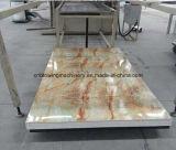 Linha de mármore artificial da extrusora da extrusão da placa de painel do PVC da manufatura