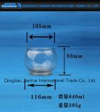 Supporto di candela di vetro classico del vaso per la decorazione