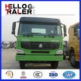 HOWO 디젤 엔진 트럭 트랙터 6X4 371HP 트랙터 포좌 트럭