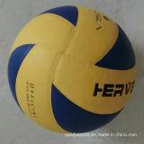 Volleyball stratifié par cuir d'unité centrale de qualité