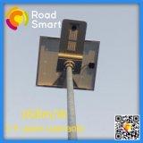 Luz de calle inteligente sin hilos de la energía solar de IP65 LED con poste