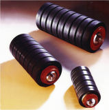 Alto-Speed Rubber Basso-Friction di lunga vita Idler Rollers (diametro 194mm)