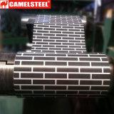 Vorgestrichenes galvanisiertes Stahlblech im Ring mit ISO