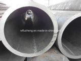 Tubo de acero de la pared pesada inconsútil, tubo de acero soldado de LSAW con la pared gruesa Sch100 Sch120 Sch140