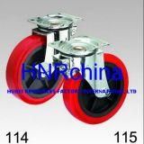 Chasse rouge de dessus de plaque d'émerillon de roue d'unité centrale