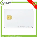 2つのトラックmagの縞が付いている白いPVC SLE4428接触スマートなICのカード