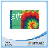 Smart card plástico do negócio em branco do ponto RFID impresso