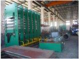 Máquina de vulcanización de la prensa de la banda transportadora para la hoja de goma