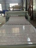 Ligne de marbre d'imitation d'extrusion de panneau de mur de PVC