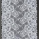 Underwearのための新しいArrival Ecru Elastic Lace Lycra Spandex Lace