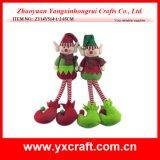 Juguete del payaso de la Navidad de la decoración de la Navidad (ZY14Y514-1-2)
