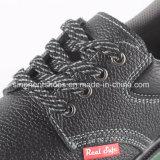 Zapatos de seguridad de cuero industriales con el certificado RS8108 del Ce