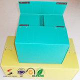 Caixa ondulada plástica para o pacote