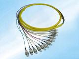 FC/PC 싱글모드 0.9mm 9/125um 섬유 광학적인 떠꺼머리