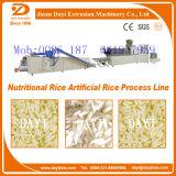Riz artificiel faisant à machine la chaîne de fabrication de riz alimentaire