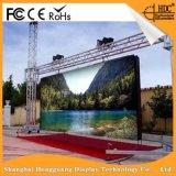 Tela video Rental de alta resolução ao ar livre da parede do diodo emissor de luz da cor P6.25 cheia