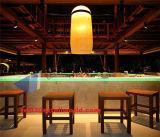 Teller van de Staaf van het Restaurant van de LEIDENE de Buitensporige Kleine Moderne Oppervlakte van de Controle Tegen Acryl Stevige