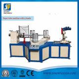 4 Köpfe winden sich Kraftpapier-Walzen-Papier-Kern-Gefäß-Wicklung Rewinder Maschine