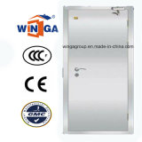 ガラスステンレス鋼の機密保護のドア(W-GH-12)とのSunproofの銀製カラー