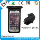 Titular de la bolsa impermeable universal de montaje de la bici para los titulares de teléfonos móviles