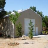 Baustahl-Lager/vor ausgeführtes Gebäude