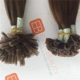 Выдвижения человеческих волос ленты ленты u ногтя