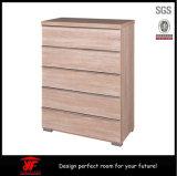 De madeira original da função simples de Muilt do estilo de Europa ao lado do armário de armazenamento das limas do escritório da tabela