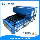 Máquina que corta con tintas cortada beso del laser del plano automático del laser de Guangzhou