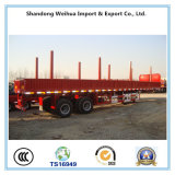 De Aanhangwagen van de lading/de Semi Aanhangwagen van de Vrachtwagen van de Zijgevel met 3 Assen van Fabrikant