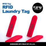 Etiqueta del lavadero de la frecuencia ultraelevada para la hoja y los uniformes del hotel