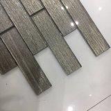 El azulejo cristalino más nuevo del ladrillo de cristal del café para la decoración de la pared (superficie lisa)