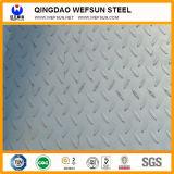 Piatto d'acciaio Checkered di goccia della rottura di buona qualità