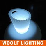 Cubeta de gelo iluminada da cubeta de gelo do diodo emissor de luz