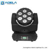 indicatore luminoso capo mobile del fascio di grado LED della lampada 8 di 7X12W Osram