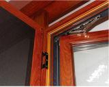Customzied 롤러 셔터를 가진 이중 유리를 끼우는 알루미늄 여닫이 창 Windows