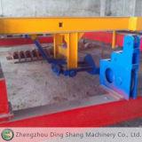 Machine de rotation spiralée jumelle d'engrais