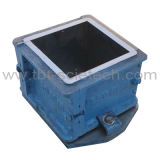 Ferro de molde reusar da boa qualidade 4 porções do molde concreto do teste